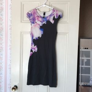 Alexandra McQueen flora print dress